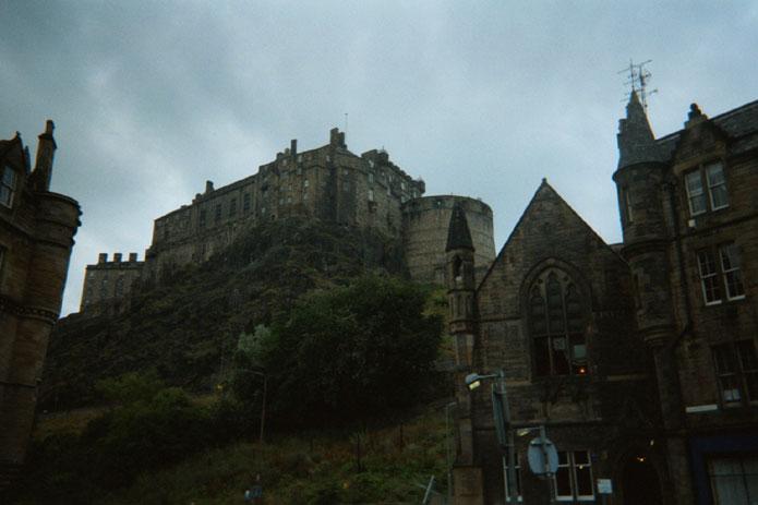 Shot of the castle